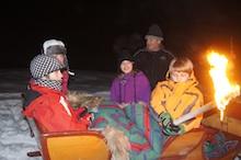 obóz zima
