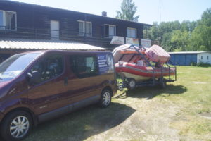 obóz żeglarski pieczyska